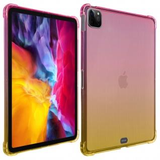 Verstärkte Hülle für iPad Pro 11 2020 / 2018 und iPad Air 2020 ? Rosa / Gelb