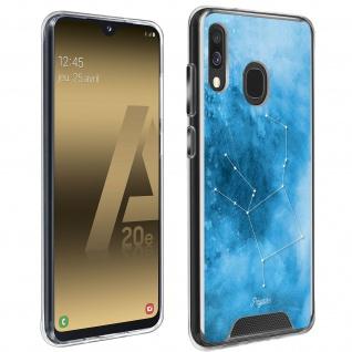 Stoßfeste Handyhülle für Galaxy A20e, Made in France ? Sternbild Pegasus Design