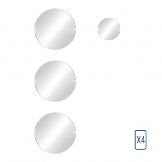 4x Rückkamera Folien, 6H Glas für Oppo Reno 5 Pro 5G, 3mk ? Transparent