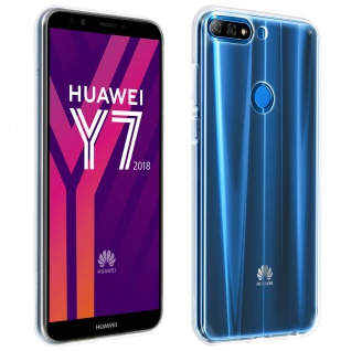 Huawei Y7 2018/ Honor 7C Schutzhülle Silikon ultradünn (0.30mm) ? Transparent