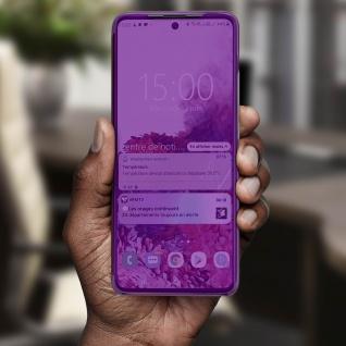 Mirror Klapphülle, Spiegelhülle für Samsung Galaxy A71 - Violett - Vorschau 4