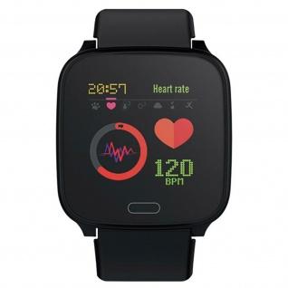 IP68 wasserdichte Kinder Smartwatch Silikon-Armband, iGO Forever ? Schwarz