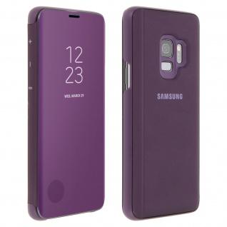 Original Samsung Clear View Standing Cover für Samsung Galaxy S9 - Violett
