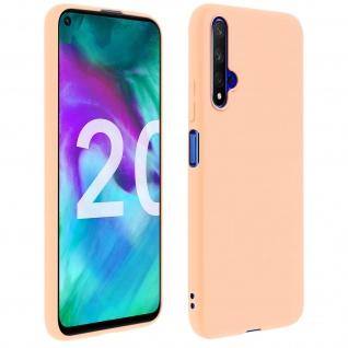Honor 20 / Huawei Nova 5T Soft Touch Silikonhülle, soft case - Rosa