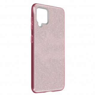 Schutzhülle, Glitter Case für Samsung Galaxy A42 5G, shiny & girly Hülle â€? Rosa