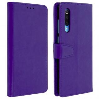 Flip Stand Cover Brieftasche & Standfunktion für Xiaomi Mi 9 - Violett