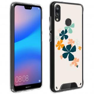 Handyhülle für Huawei P20 Lite, Made in France ? Kleeblatt Design