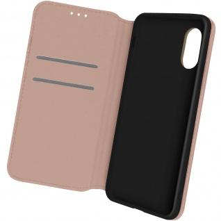 Kunstleder Cover Classic Edition, Klappetui für Samsung Xcover 5 ? Rosegold