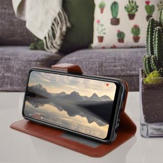 Flip Stand Cover mit Standfunktion Huawei P Smart 2019 / Honor 10 Lite - Braun - Vorschau 4