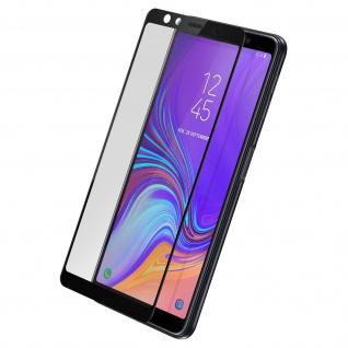 Bruchsichere Glas-Displayschutzfolie, Full Cover für Galaxy A7 2018 - Akashi