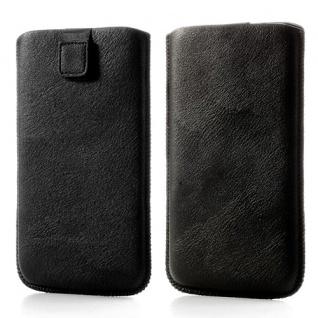 Universal Slim Tasche Größe 3XL Schwarz - Pull-Out-Funktion Verschlusslasche