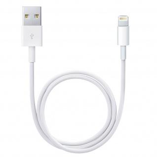 Ladekabel iPhone/iPad/ USB ? Kabellänge: 1m ? Weiß - Vorschau 2