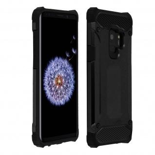 Defender II stoßfestes Cover Bumper (1, 80m) für Samsung Galaxy S9 ? Schwarz