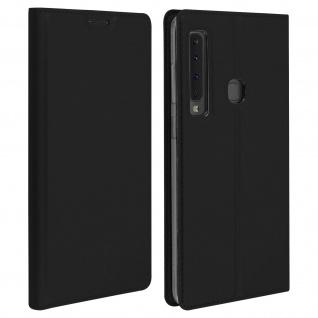 Klappetui mit Kartenfach & Standfunktion Samsung Galaxy A9 2018 Schwarz