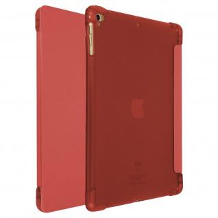 iPad 9.7 2017/iPad 5/iPad 2018 Slim Case Video Stand Stylus Holder - Rot