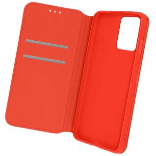 Kunstleder Cover Classic Edition, Klappetui für Oppo A94 5G ? Rot