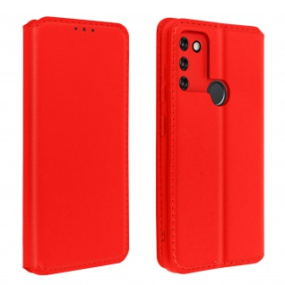 Kunstleder Cover Classic Edition Honor 9A ? Rot
