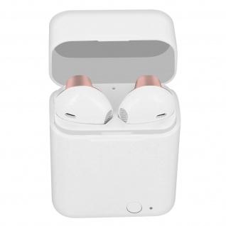 Kabelloses Bluetooth 5.0-Headset, 12 Stunden Akkulaufzeit, Akashi � Rosa