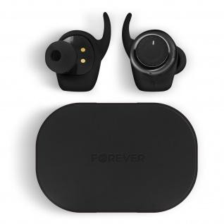 Bluetooth 5.0 in-ear Kopfhörer mit Ladebox, Anruf & Musik, by Forever ? Schwarz