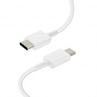 USB-C / USB-C 60W Lade- und Synchronisationskabel 1m Original Samsung â€? Weiß