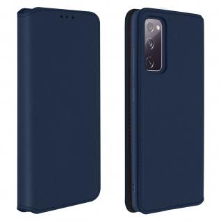 Kunstleder Cover Classic Edition Samsung Galaxy S20 FE � Blau
