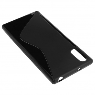 Sony Xperia XZ S-Line Schutzhülle aus Silikon - Schwarz