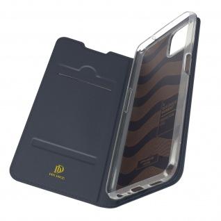 Klappetui mit Kartenfach & Standfunktion Oppo A73 5G ? Dunkelblau