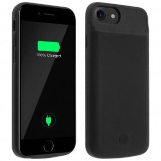 Akku-Schutzhülle 2800 mAh für Apple iPhone 6, 6S und iPhone 7 - Schwarz
