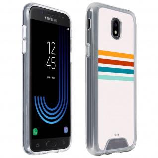 Handyhülle für Samsung Galaxy J5 2017, Made in France ? Stripes Design