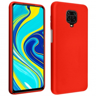 Soft Touch Hülle Xiaomi Redmi Note 9 Pro Max / Note 9 Pro /Note 9S - Rot
