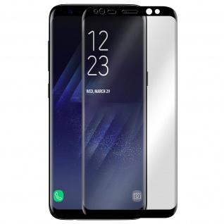 Akashi, Samsung Galaxy S8 Displayschutz, Full Protection Abgerundete Kanten