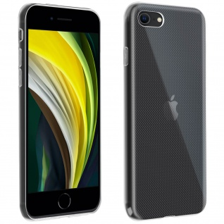 iPhone 7 / 8 / SE 2020 Rundumschutz â€? transparente Hülle + Displayschutzfolie