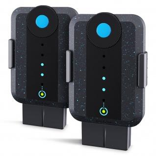 2x Elektrostimulatoren für Verstärkung, wiederaufladbar, Bluetens - Schwarz
