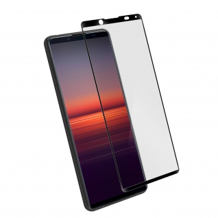 9H Härtegrad Glas-Displayschutzfolie Sony Xperia 5 II â€? Schwarz