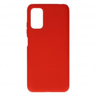 Silikon Handyhülle für Xiaomi Redmi Note 10 5G / Poco M3 Pro, Soft Touch ? Rot
