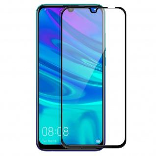 Premium Glas-Folie Huawei P Smart 2019 / 2020 / Honor 10 Lite - Schwarz