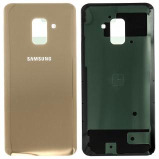 Ersatzteil Akkudeckel, neue Rückseite für Samsung Galaxy A8 2018 - Gold