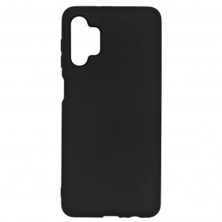 Samsung Galaxy A32 5G Soft Touch Silikonhülle, soft case ? Schwarz