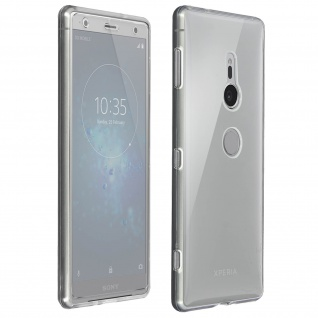 360° Protection Pack für Xperia XZ2: Backcover + Displayschutzfolie aus Glas