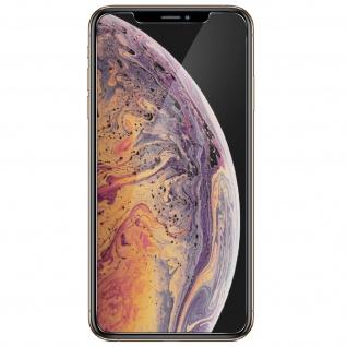 4Smarts- Displayschutzfolie gehärtetes Glas 9H Härtegrad für Apple iPhone XS Max