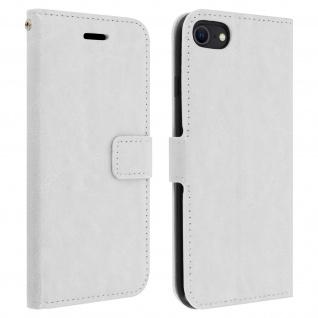 Flip Stand Case Brieftasche & Standfunktion für iPhone 7 / 8 / SE 2020 ? Weiß