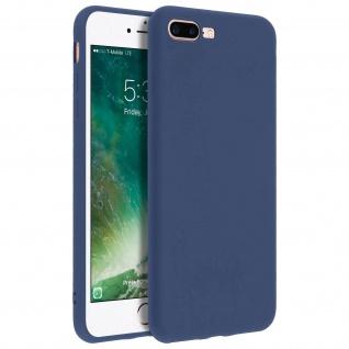Forcell iPhone 7 Plus/ 8 Plus Soft Touch Silikonhülle, soft case ? Dunkelblau