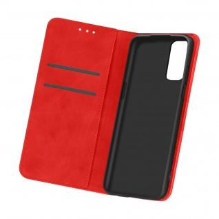 Flip Stand Case Brieftasche & Standfunktion für Oneplus 9 ? Rot
