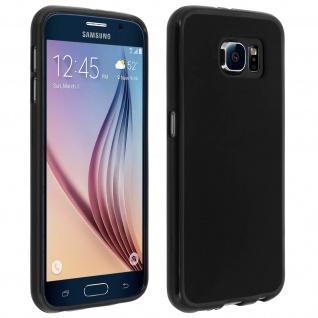 Samsung Galaxy S6 schwarze ultradünne Schutzhülle aus Silikon