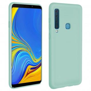 Samsung Galaxy A9 2018 Soft Touch kratzfeste Silikonhülle, soft case - Grün