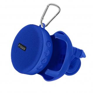 Bluetooth Fahrrad 5W Lautsprecher, IPX7 Wasserdicht IPX7 ? Blau
