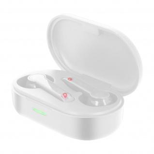 Bluetooth Wireless Kopfhörer, Wasserdicht IPX7, 15 Std. Akkulaufzeit ? Weiß