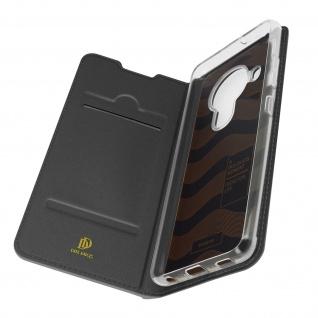 Klappetui mit Kartenfach & Standfunktion für Nokia 5.4 / 3.4 ? Schwarz