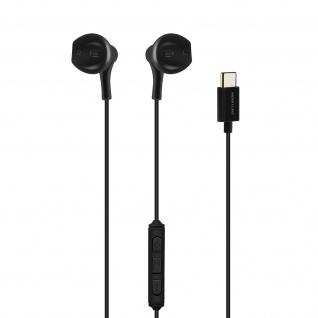 Kopfhörer Micro Integrierte Fernbedienung USB-C Anschluss ? Schwarz