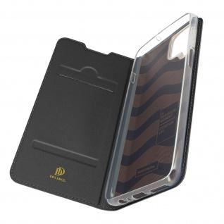 Klappetui mit Kartenfach & Standfunktion Samsung Galaxy A12 ? Schwarz